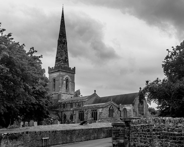Church of Saint John the Baptist, Kingsthorpe, Northampton Architecture Northampton Black And White Chuches