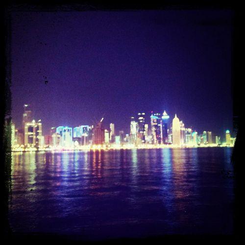 Doha#City#❤ I ❤ Qatar Qatar Corniche