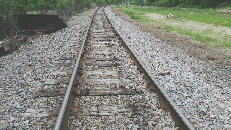 Train Enjoying Life