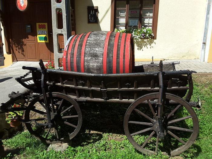 Barrel Cart Window Village Hungary Mariagyud Siklósi Bácsi
