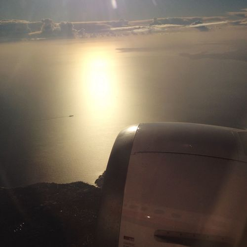 Flying to Naples Sky Collection Water_collection Fly Windows View
