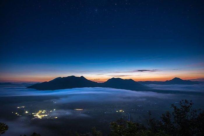 เมืองกลางหมอก Astrophotography Night Star Fog Loei Thailand Travel Amzthld