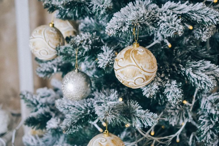 Christmas Christmas Tree Christmas Decoration Celebration Hanging Christmas Ornament Decoration Tree Close-up Holiday - Event Day Tradition
