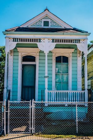 Finally up for posting pics from my new home ~ New Orleans! I've been here a month now & been so busy getting the house settled that I wasn't out enjoying the city until this weekend. I had a long leisurely bike ride through the city & it was amazing. I'm so in love & feeling so lucky & blessed to have made this decision to move to this crazy fairytale of a town. Shifting into the present & happy to call myself a New Orleanian! Architecture Street Streetphotography New Orleans NOLA Eye4photography  Home Sweet Home Shootermag City Cityscapes Check This Out EyeEm Gallery
