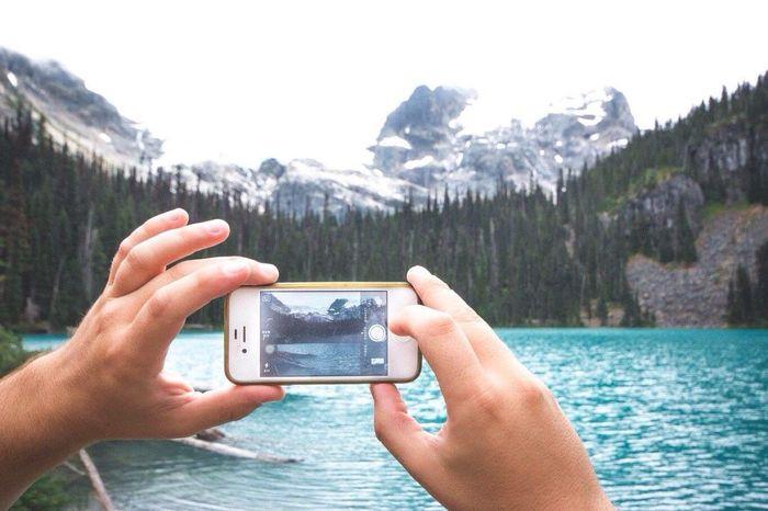 Mobile Conversations Mountain Wireless Technology Beauty In Nature Alpine Lake Alpine Hiking Hikingadventures Nature Landscape Outdoors Adventure Mountain Range
