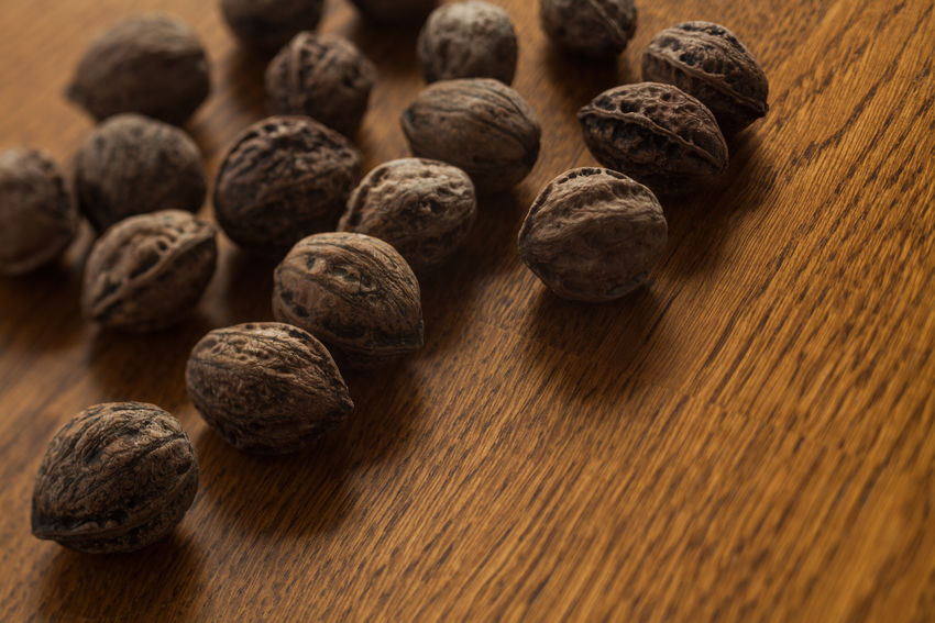 Autumn Autumn Colors Brown Close-up Cooking Harvest Kernel Macro Natural Nature Nut Nuts Nutshell Organic Season  Seed Still Life Walnut Walnuts Wood - Material Wooden
