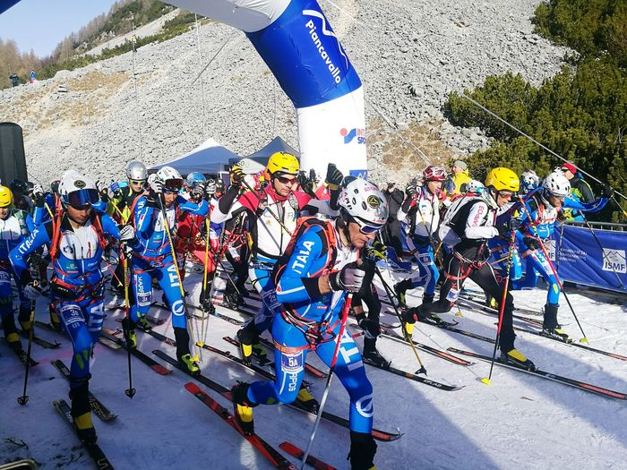SKI MOUNTAINEERING WORLD CHAMPIONSHIP 2017 - Men's starting grid... PURE POWER!
