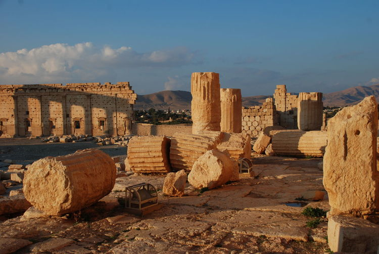 Old Ruins In Syria