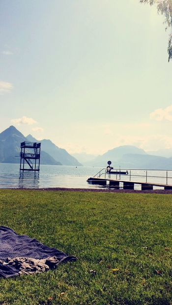 buochs Badi Swimming Sea Vierwaldstättersee Cool Beautiful Funny Nice