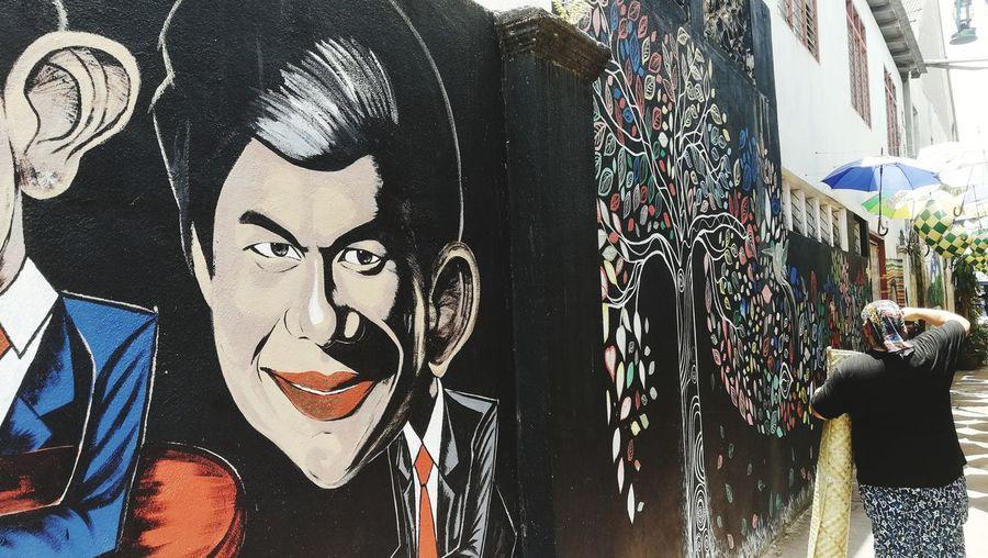 Graffiti art at