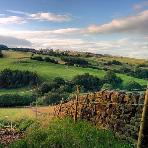 Walking this evening... Westyorkshire Oakworth Haworth Countrylife