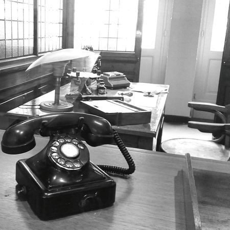 Vintage OfficeOld Telephone Trainworld Brussels