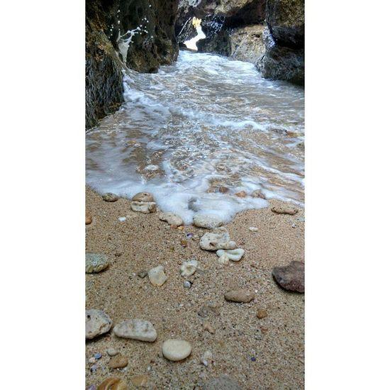 SPLASH ! Morningvibes Splashofsea Rocks Sharpreefs Sandandstone Abrasion Moss Coolkids Waves Birdschirp
