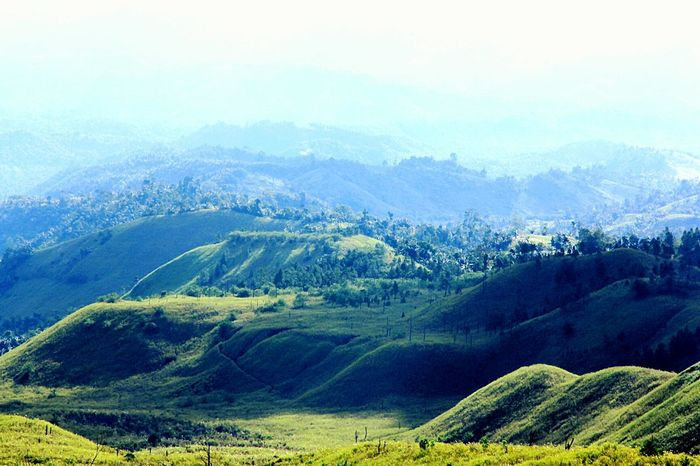 Great Outdoors Light And Shadow Landscape Landscape_Collection Landscape_photography Mountain Mountain View Mountain_collection Scenics Hills Manado Valley Remote Majestic Showcase: December Nature's Diversities Landscapes With WhiteWallotw Mt. Soputan