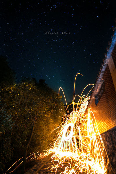 Taking Photos Stars Star Beautiful Day Landscape Lovely Weather Hello World Night Light Painting Star and fire