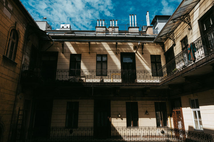 Travel Travel Photography Architecture Balcony Building Building Exterior Built Structure City Day Façade History Low Angle View Nature No People Old Outdoors Railing Residential District Sky Sunlight The Past Window