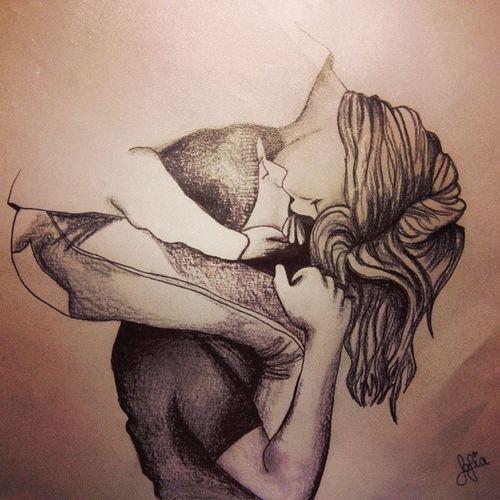 Disegnino Per Il Mio amorino iloveyou love draw drew drawn draws my pen write your name in your heart