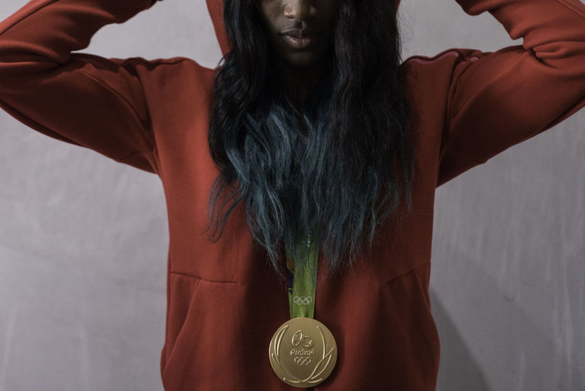 NotYourCliche Athlete Gold Hair Olympics Fashion Indoors  Medal Sport Women EyeEm Ready