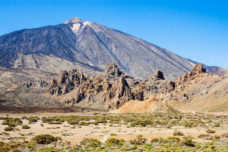 Volcano El Teide El Teide National Parc Teide National Park Canary Islands Canarias Tenerife Island Tenerife