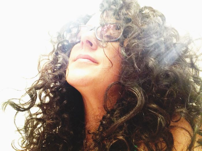Let Your Hair Down Curly Hair Naturally Curly Hair Messy Hair Hair Showing Imperfection Light Curls Crazy Curls ❤