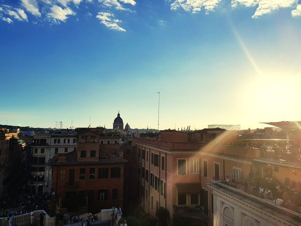 Architecture Built Structure Outdoors Sky Travel Destinations No People Day City EyeEm Selects Moving Around Rome