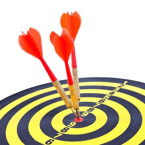Sports Target Aspirations Arrow - Bow And Arrow Inspiration White Background No People Dartboard Game Target Concept