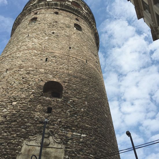 Low Angle View Architecture Built Structure Sky Building Exterior Tower Outdoors Cloud - Sky Day No People