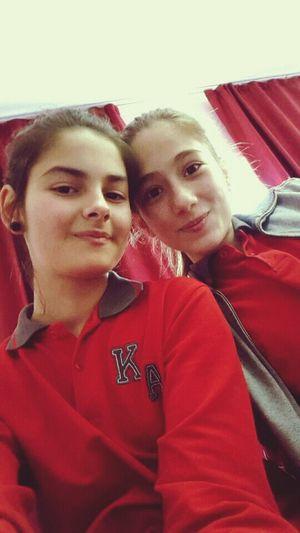 okulda ben :)