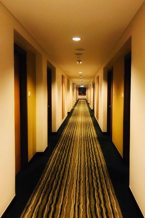 The Way Forward Corridor Indoors  Architecture Empty Illuminated Built Structure No People Day EyeEmNewHere