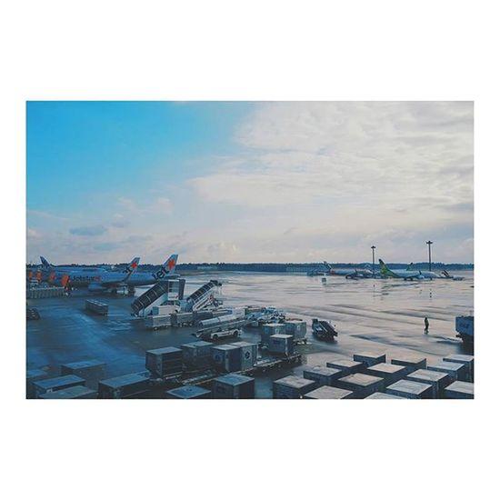 沖縄の高校生の若さを吸収しに行ってきます✈ ジャパリナ バニラエア 第3ターミナル プレハブ感 Heading to Okinawa☀ Hope it'd be a little bit warmer than Tokyo~ NARITAAIRPORT Japan