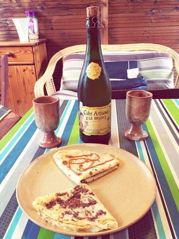 • Pause gouter 😍😋 Crêpes Cidre Caramel Nutella Posey WKD