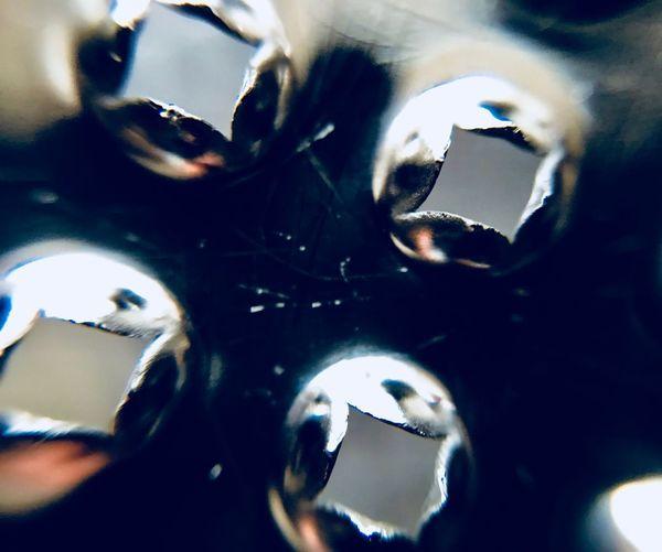 Full frame shot of wine glass
