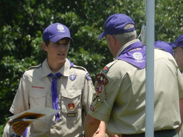 N.Y.L.T. National Youth Leadership Training Life Scout Boy Scout  Aarow Of Light