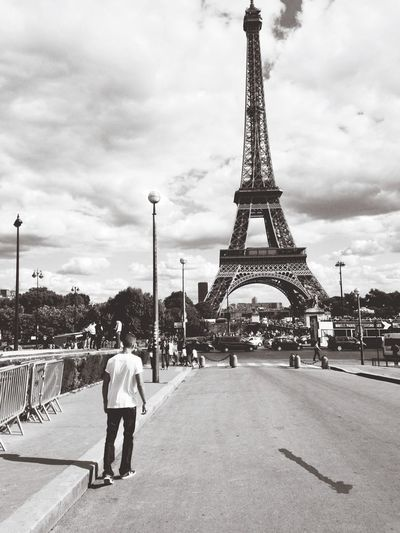 Paris Walking Alone...