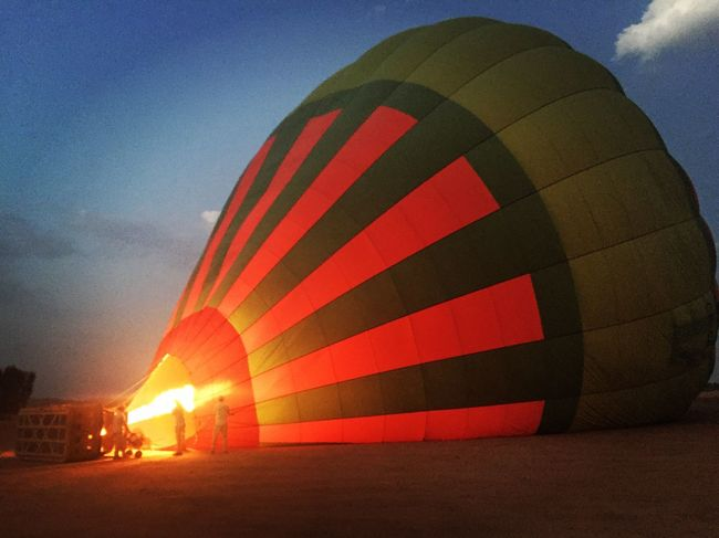 Striped Travel Destinations Transportation Hot Air Balloon Multi Colored Outdoors Adventure Wanderlust
