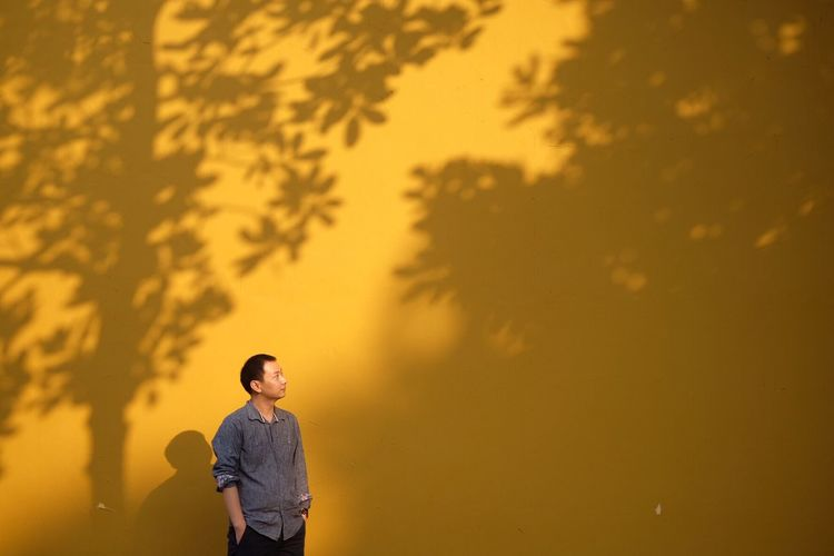 EyeEm Selects Oriental portrait wall shadow