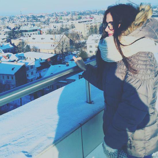 Wintertime Lovehim♡ Snow ❄ 2015Christmas ..