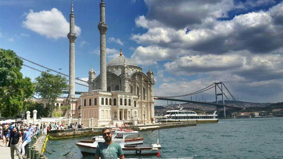 Istanbuldayasam Ortaköycamii Ortaköy Mosque Travel Photography Vscocam Vscoistanbul That's Me Hello World Gezmeliyiz Historical Building