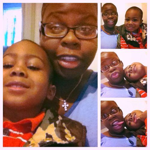 Me &&' My Nephew Tha Otha Dae ! I❤DisKidd !
