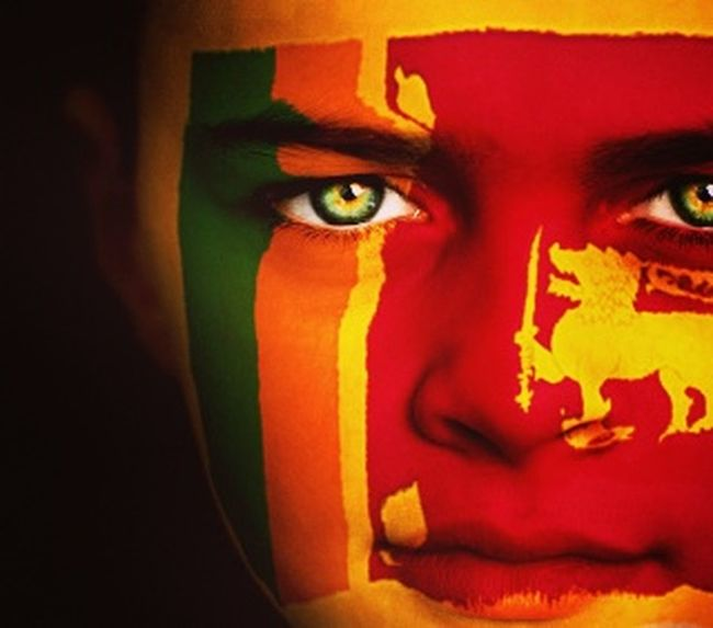 We r proud of Sri Lanka 's 68th Independence Day 👣👣I am SrI LaNkA📣