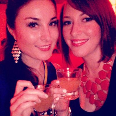 Cheers and congrats to Miss Jessica on her new job!!! RedRoom Springfieldmo Cheers Applesauce