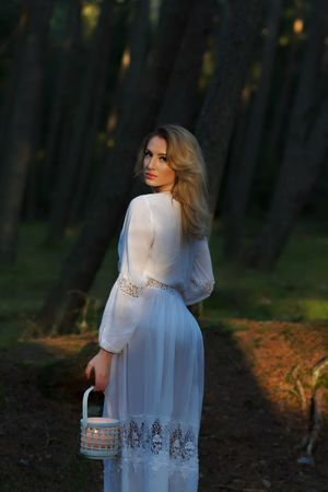 #outdoor#photography#klaipeda#giruliai Young Adult Young Women One Person Standing Beautiful Woman Long Hair Real People Beauty Women Portrait Forest