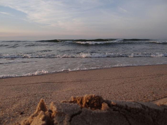 Beach Sea Sand Sky