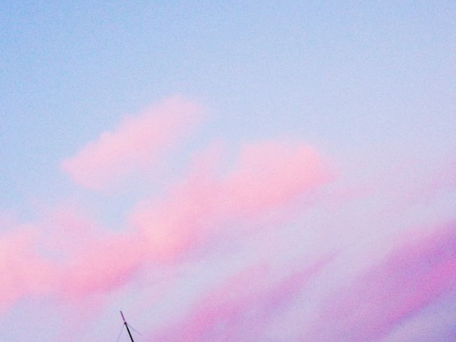 Pink, Purpel Cloud Multi Colored Flying Backgrounds Pink Color Sky Close-up Sky Only Fluffy