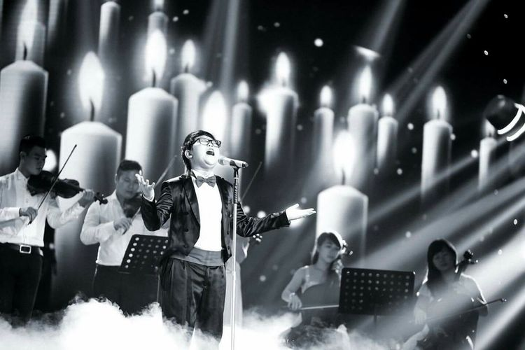 South Stage Artist Stage Photography Shine Singers Vietnam Make Magic Happen Monochrome Black & White