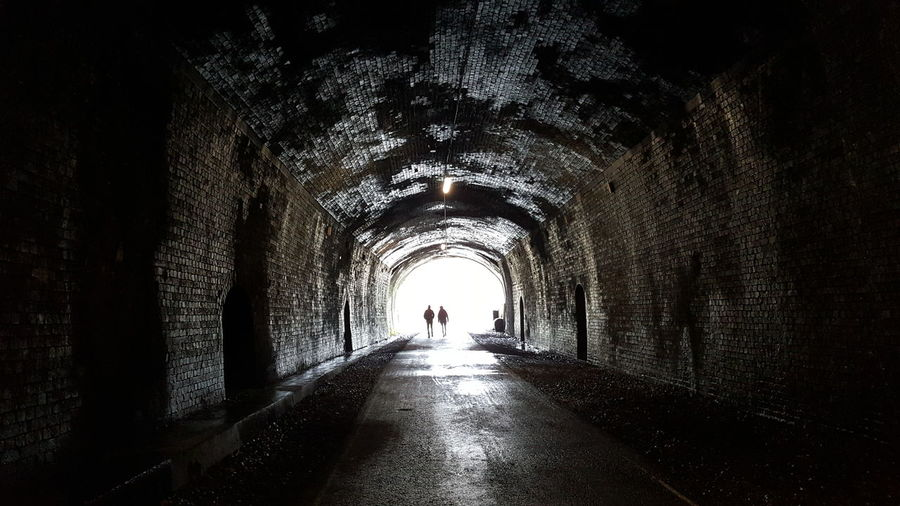 There's light at the end of the tunnel.... The Way Forward Tunnel Silhouette Built Structure Architecture Derbyshire Peak District  The Purist (no Edit, No Filter) For Anyone Whos Interested Check This Out Photography Is My Escape From Reality! Monsal Head Headstone Tunnel Light And Shadow