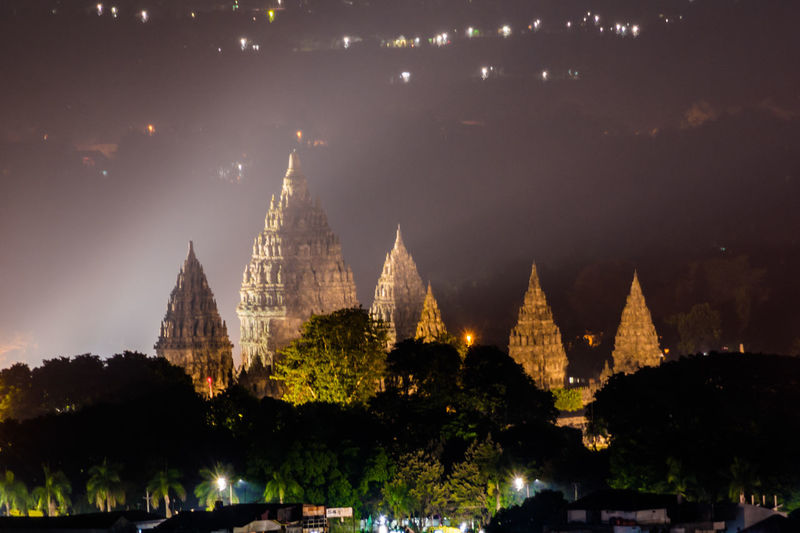 prambanan temple at night Wonderful Indonesia Pesonaindonesia Worldcaptures INDONESIA Indonesia Photography  Landscape_Collection Landscape_photography Landscape #Nature #photography Landscape Cultural Heritage Heritage Hindu Temple Landscape_lovers EyeEm Selects Arcitecturephotography Nigth  City Cityscape Place Of Worship Ancient Business Finance And Industry Architecture Sky Pagoda Stupa Foggy Temple - Building Temple Historic