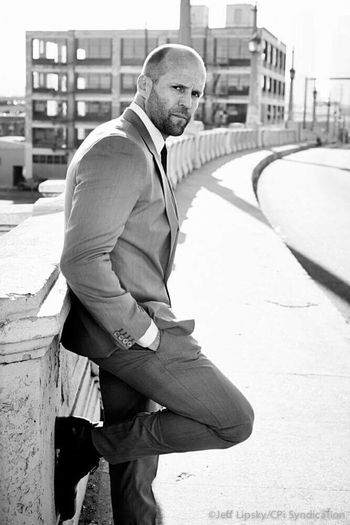 I love this guy <3 King Guy Charisma Handsome Handsome Man Actor Fast And Furious 7 Favorite Jason Statham