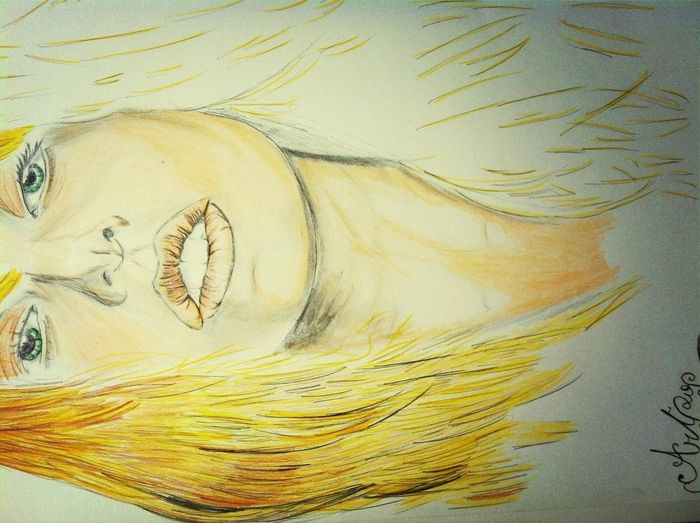 Drawing my Mother Monster