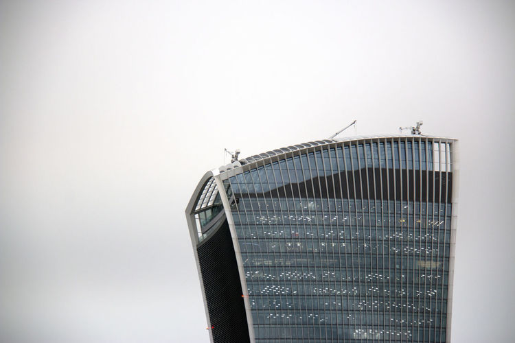 Walkie Talkie Fenchurch Street Talkie Architecture Close-up Day No People Outdoors Sky